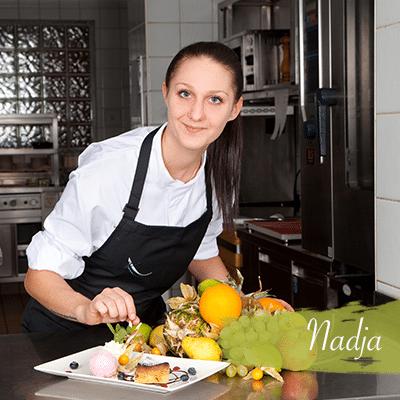 Nadja - Chef de Partie/Meisterkonditorin