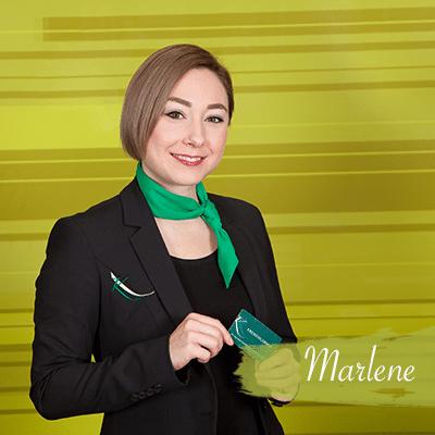 Marlene - Rezeptionistin